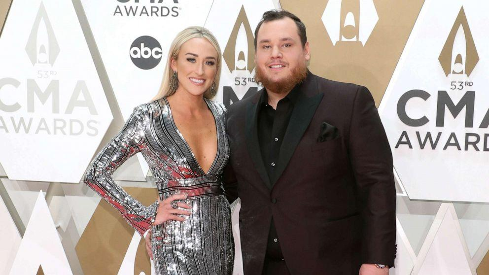 Luke Combs Shares Photo From His Fairy Tale Wedding