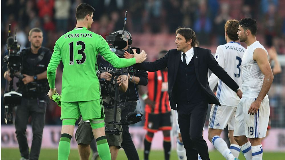 "Chelsea, Conte : ""Courtois apte contre Tottenham"""