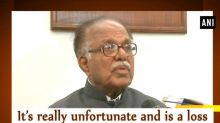 It's really unfortunate and is a loss to nation: Rajya Sabha Deputy Chairman on disruption of Parliament