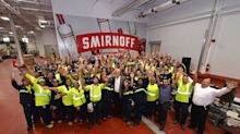 Ted Danson Visits SMIRNOFF™ Vodka Facility in Plainfield, Ill. to Experience How the Brand is Made In America