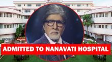 Amitabh Bachchan Admitted To Nanavati Hospital, It Has Been 3 Days And Nobody Knew It!- BREAKING NEWS, EXCLUSIVE