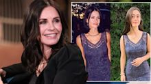 Courtney Cox's daughter wears her red carpet dress from 21 years ago