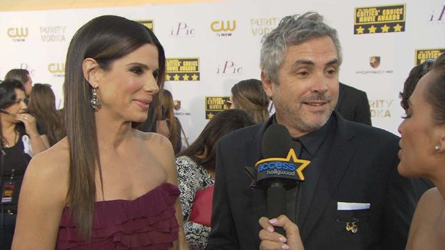 Sandra Bullock And Alfonso Cuaron React To 'Gravity's' 10 Oscar Nominations