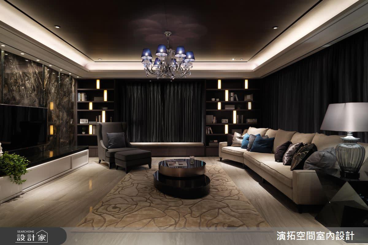 耐看的奢華、五星感的家!縈繞茶香的唯美大宅