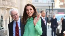 Kate Middleton continúa compromisos a punto de dar a luz