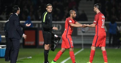 Foot - L1 - PSG - Javier Pastore (PSG) ne faisait pas la «tête» en sortant à Angers