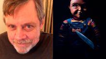 Mark Hamill presenta el nuevo aspecto de Chucky, el muñeco maldito
