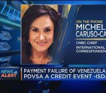 Payment failure of Venezuela's PDVSA a credit event