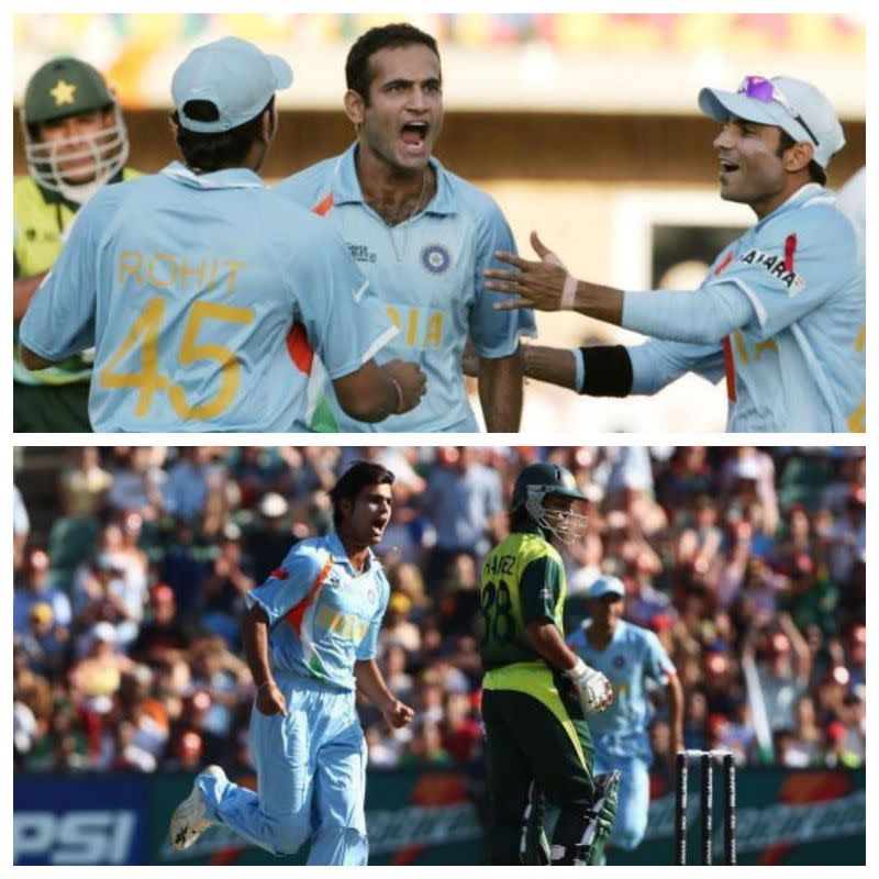 Irfan Pathan and RP Singh were wreaking havoc in the Pakistan batting