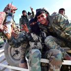 Early celebrations as Syria war on IS holdout wraps up
