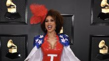 Political fashions hit the Grammys 2020 red carpet: 'Impeach this'