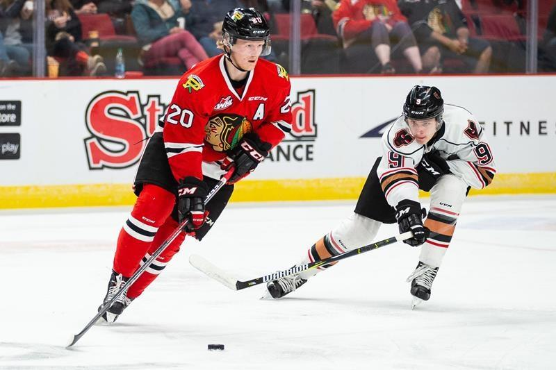 Bob Clarke Trophy: Portland Winterhawks forward Joachim Blichfeld in pursuit of CHL scoring title