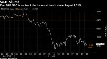 Acciones de EEUU caen y dólar avanza; tecnológicas destacan
