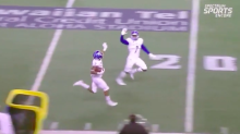 San Jose State teammates celebrate kickoff return TD 20 yards from end zone (Video)
