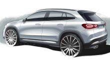 Mercedes GLA (2020) zeigt sich in neuem Teaser