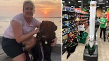 Blind woman 'stalked' by Woolworths robot in supermarket