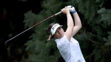 Green grabs share of lead in LPGA Portland defense