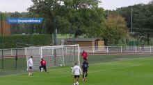 Foot - Bleus : Le bel enchaînement de Fekir et Mbappé à l'entraînement