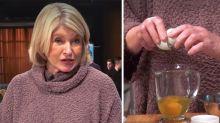 Fans lose it over Martha Stewart's bizarre scrambled-egg hack