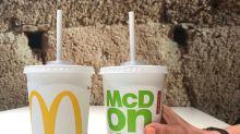 """McDonald's """"umweltfreundliche"""" Papierstrohhalme sind nicht recycelbar"""
