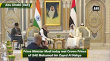 PM Modi conferred with highest civilian award of UAE 'Order of Zayed'