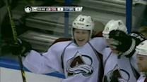 MacKinnon buries juicy rebound past Miller
