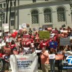 SoCal students join nationwide calls for lawmakers to take action against gun violence
