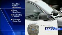 Stockton mayor pushes plan to combat crime