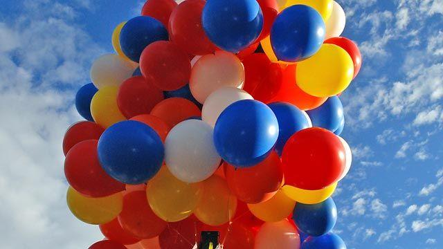 Grapevine: Should people be conserving helium?
