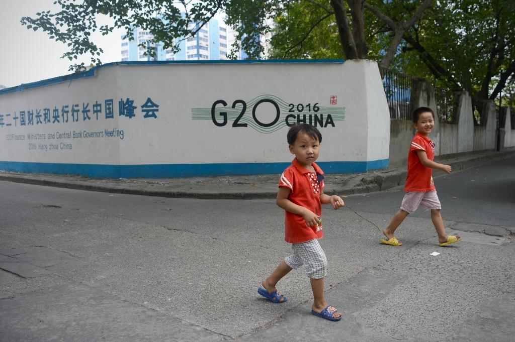 Hangzhou was emptied of residents to ensure a smooth G20 summit (AFP Photo/Wang Zhao)