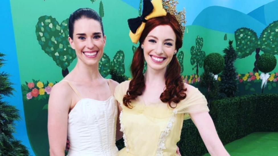 The Wiggles' Emma Watkins laughs with ex-husband Lachlan's 'new girlfriend'