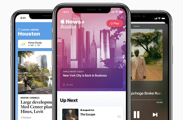 Apple News adds audio stories and a daily podcast