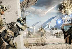 Battlefield 2042's Hazard Zone mode is about collecting intel with your team