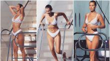 Bella Hadid vuelve a liarla en Cannes: ¿se bañó en ropa interior?