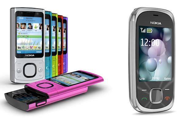 Nokia's 6700 slide and 7230 make up in price what they lack in excitement