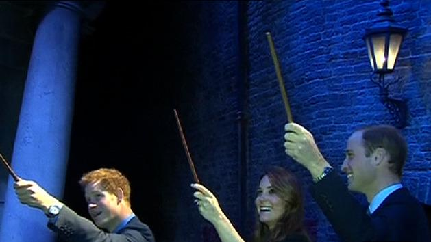 Kate and Will cast spells