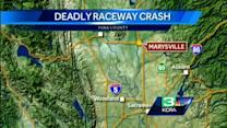 2 killed when car crashes into pit row at Marysville race track