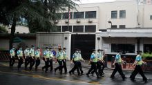 Tight security outside U.S. Chengdu consulate after China orders closure