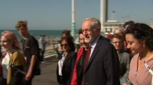 """UK opposition leader Corbyn says """"unaware"""" of move against deputy"""