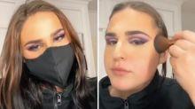 Coronavirus: Woman's 'genius' TikTok face mask solution