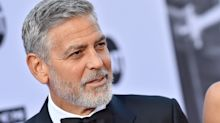George Clooney Has Motorcycle Accident Scare In Sardinia