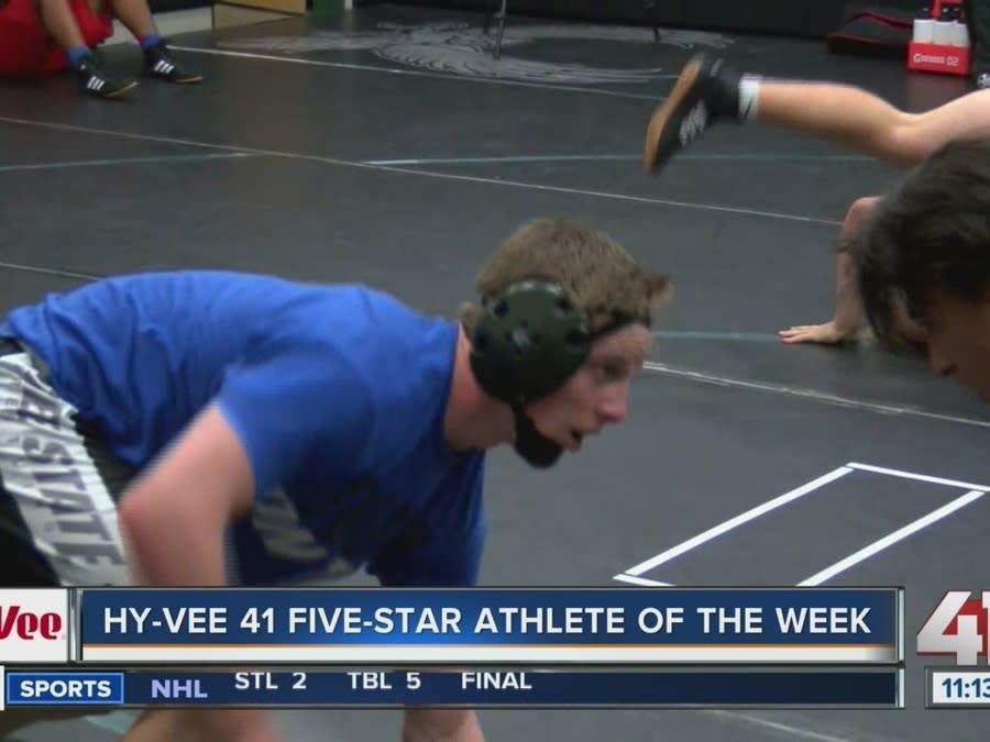 Hy-Vee 41 Five-Star Athlete of the Week: Tate Steele [影片 ...