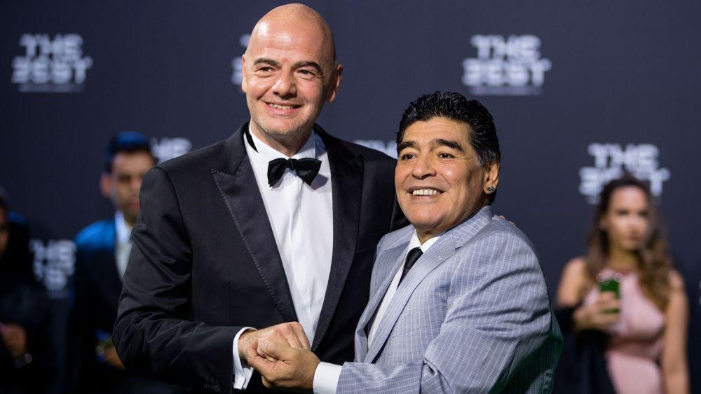 """Squalifica Messi, Maradona cerca di 'raccomandarlo': """"Parlerò con Infantino"""""""