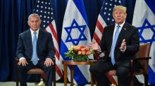 Trump pledges new Middle East peace plan within months