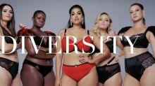 Plus-size fashion brand Navabi recreated their own Victoria's Secret fashion show