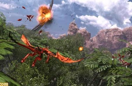 Crimson Dragon is Project Draco's final name, game still gorgeous