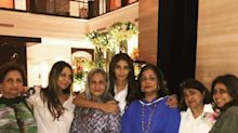 Picture: Gauri Khan spends a beautiful evening with mom Savita Chibber and friends