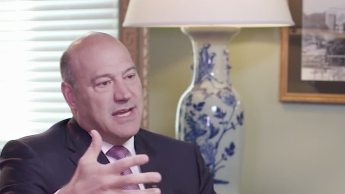 Cohn: It's fine ifcompanies buy back stock with repatriated cash