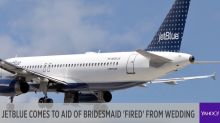 JetBlue comes to former bridesmaid's rescue