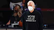 Gregg Popovich touts NBA bubble vs. U.S. leadership as league reports zero COVID-19 cases